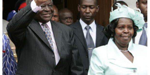 Kenias First Lady ohrfeigt Mitarbeiter