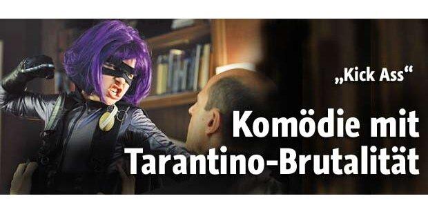 Superheldenkomödie in Tarantino-Marnier
