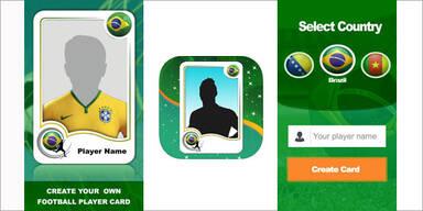 kickCard 2014 – Neue App für die Fußball WM