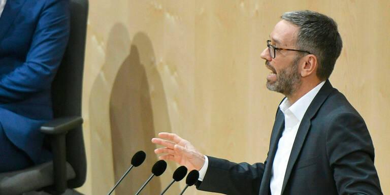 Wickel mit Kickl: Parlaments-Eklat um Türkis-Grün