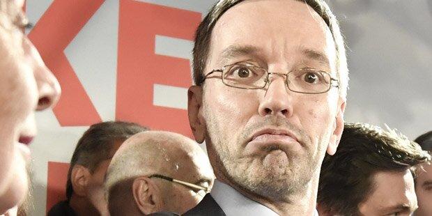 FPÖ räumt Niederlage ein