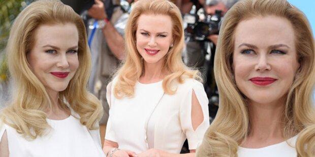 Kidman: Total verspritzt bei Cannes-Eröffnung