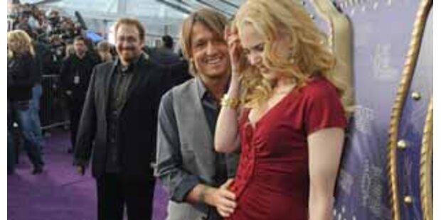 Nicole Kidmans große Babybauch-Schau