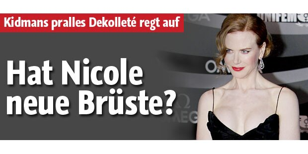 Nicole Kidman: Hat sie neue Brüste?