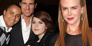 Nicole Kidman, Tom Cruise, Isabella, Connor