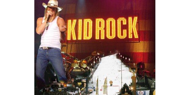 Kid Rock: Summerfeeling bei Minus 4 Grad