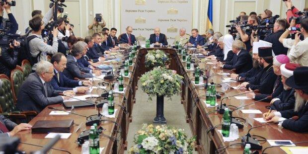 Ukraine: Runder Tisch in Kiew vertagt