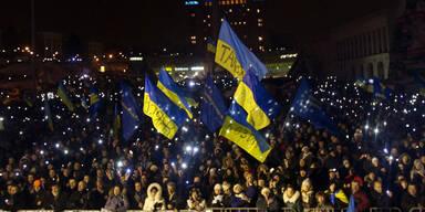 Neue Massenproteste in der Ukraine