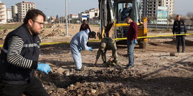 Türkei griff IS-Stellungen in Syrien an