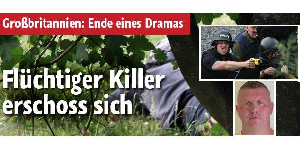 Flüchtiger Killer erschoss sich