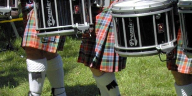 Schotten tragen jetzt was drunter