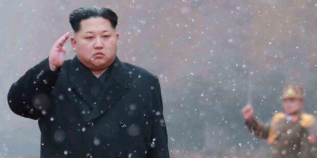 Irrer Kim droht mit der Zerstörung Washingtons