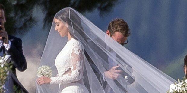 Kims Hochzeit kostete 1,8 Mio. $