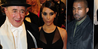 Kim Kardashian, Richard Lugner, Kanye West