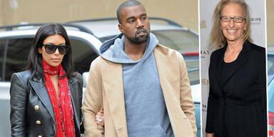 Kim Kardashian, Kanye West, Annie Leibovitz