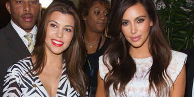 Kourtney Kardashian; Kim Kardashian
