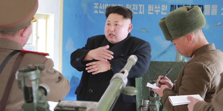 """Irrer Kim: """"Wir können die Amerikaner angreifen"""""""