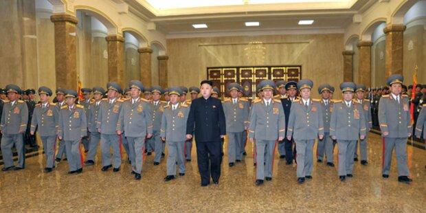 Kim zeigt sich erstmals wieder seinem Volk
