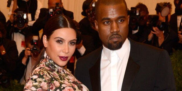 Kanye zeigt Baby North in Talkshow