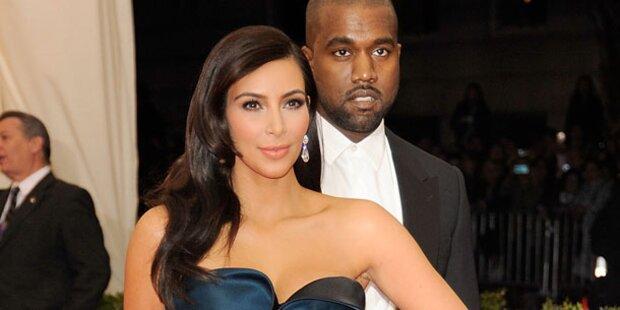 Kim scheffelt Millionen für Hochzeit mit Kanye