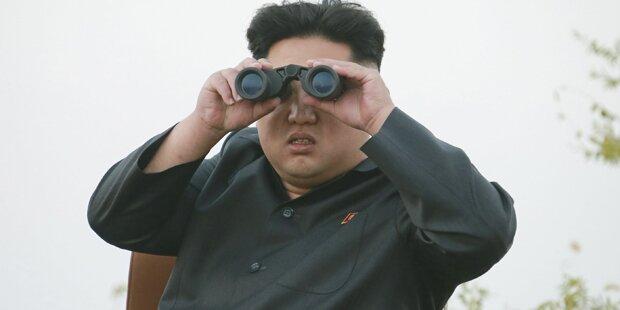 So protzig ist der irre Kim
