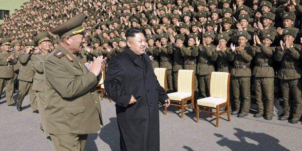 Irrer Kim geht nicht mehr am Stock