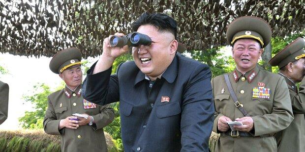 Irrer Kim setzt auf Konfrontation