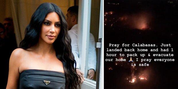 Feuer-Drama: Kardashians werden evakuiert