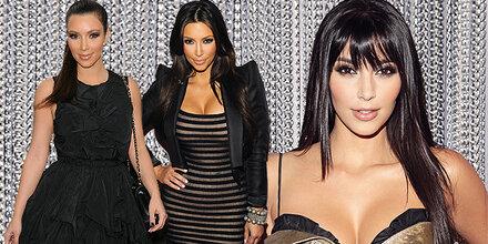 Beckhams Kleider perfekt für Kardashian
