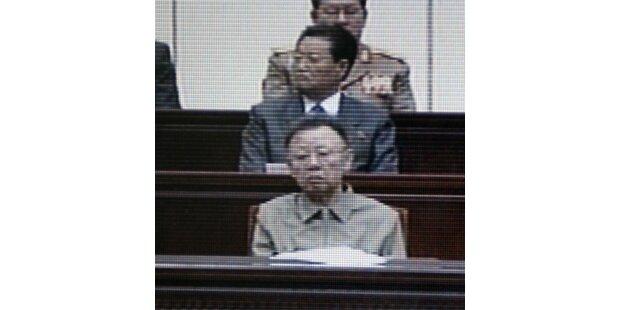 Magerer Kim Jong Il zeigte sich wieder