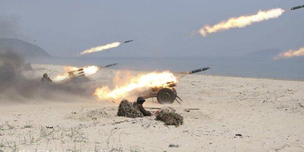 Nordkorea macht erneut Raketen-Test