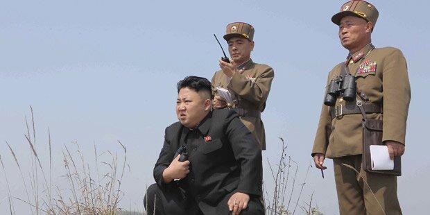 Irrer Kim bereitet Atom-Test vor