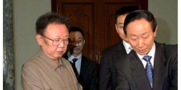 USA und Nordkorea sprachen über Atomprogramm