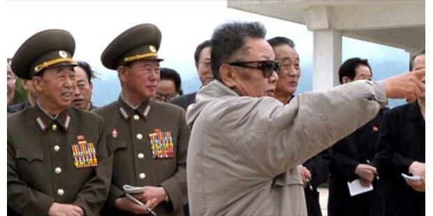 Pjöngjang droht mit Atomwaffen-Angriff