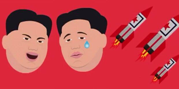 Irrer Kim hat nun eigene Emojis