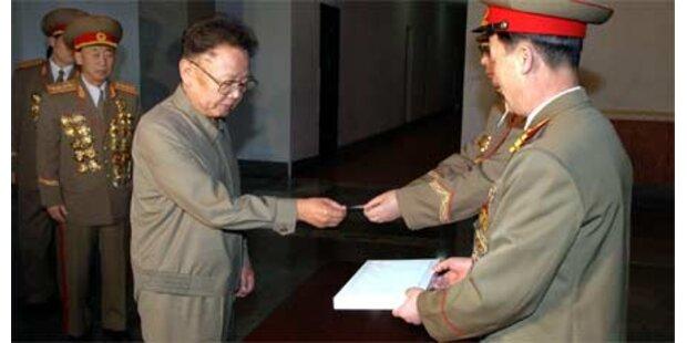 Staatschef Kim einstimmig wiedergewählt