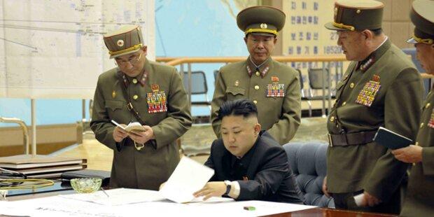 Kim erklärt den Krieg