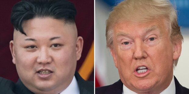Trump: Kim Jong-un ist ein Verrückter