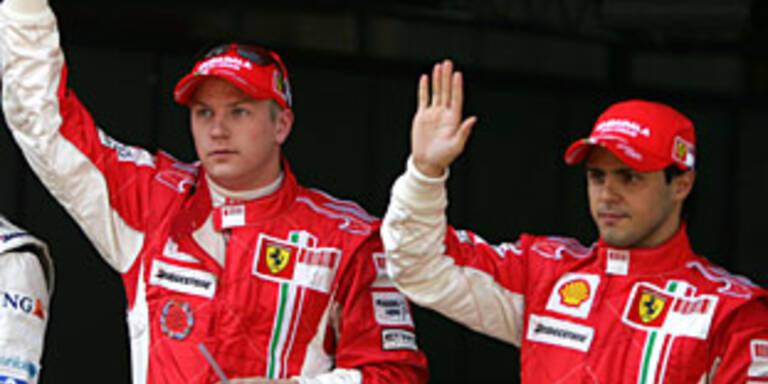 Alle jagen nun Ferrari
