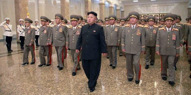 Irrer Kim simuliert Präventiv-Krieg