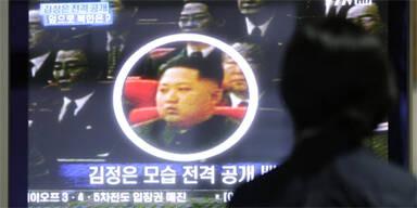 Kim Jong-un erstmals bei Manöver