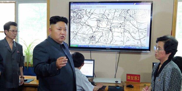 Irrer Kim: Wut auf falschen Wetterdienst