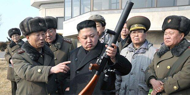 Nordkorea feuert Richtung Japan