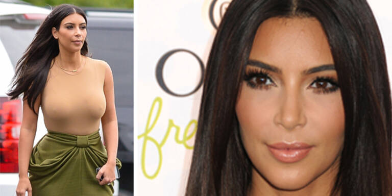 Kardashian lässt sich das Gesicht bügeln