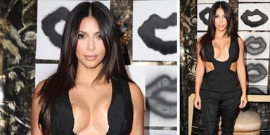 Kim Kardashian Busenblitzer