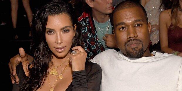 So heißt Kim und Kanyes drittes Kind