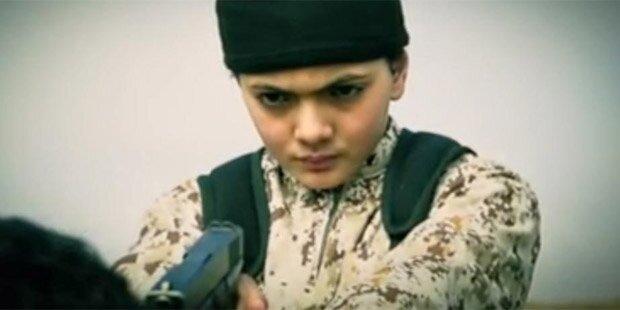 ISIS: Kinder müssen grausamen Test  bestehen
