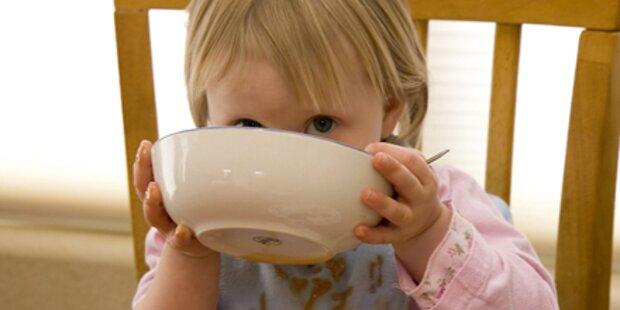 Kinder-Lebensmittel sind nicht gesund