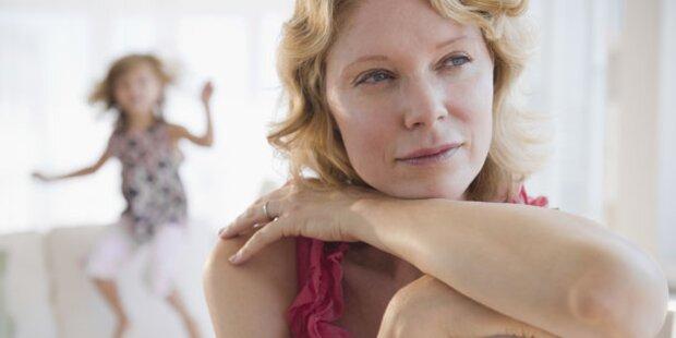 Jede 2. Mutter sieht Kind als Stressfaktor