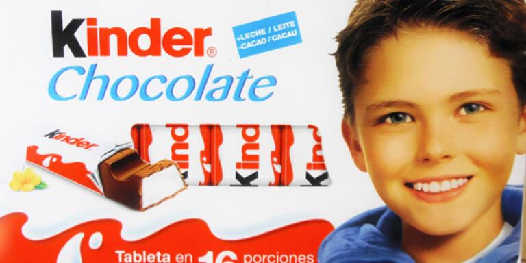 So sieht der Bub von der Kinderschokolade heute aus